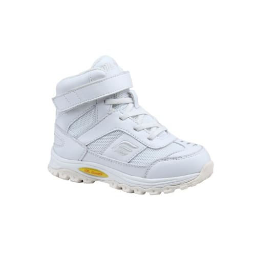 Mt. Emey 3305-3H White - Children Straight Last Athletic Boots With Elastic Laces - Shoes