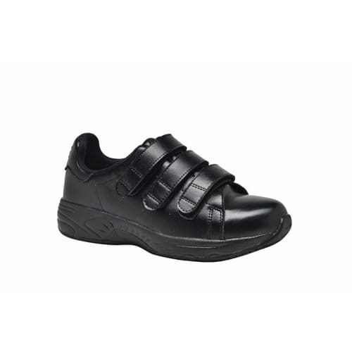 Mt. Emey 4402 Black - Mens Added Depth Oil/slip Resistant Shoes With Straps - Shoes