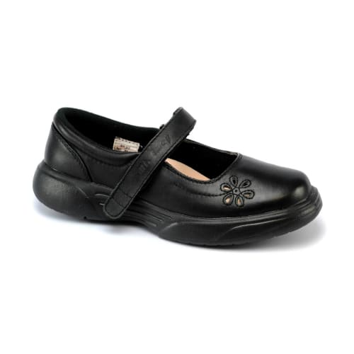 Mt. Emey 9205 Black - Womens Light Weight Mary Jane Strap - Shoes