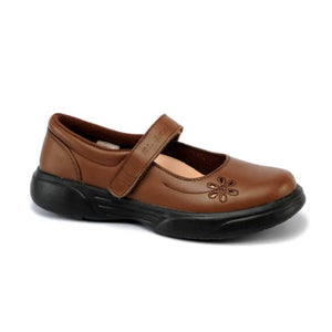 Mt. Emey 9205 Brown - Womens Extreme-Light Mary Jane Strap - Shoes
