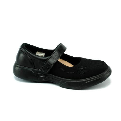 Mt. Emey 9205-L Black Lyrca - Womens Extreme-Light Mary Jane Strap - Shoes