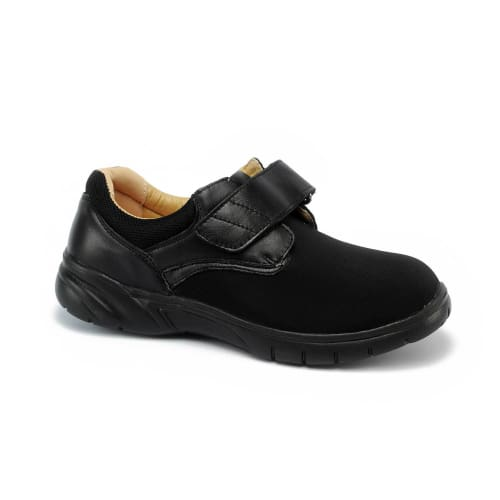 Mt. Emey 9602 Black Lycra - Mens Extra-Depth Casual Shoes - Shoes
