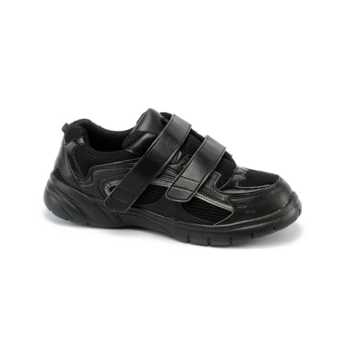Mt. Emey 9701-1V Black - Mens Extra-Depth Athletic/walking Shoes With Straps - Shoes