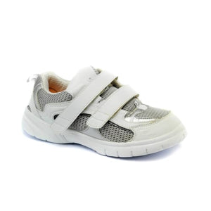 Mt. Emey 9701-3V White/silver -Mens Light Weight Athletic Walking Shoe With Straps - Shoes