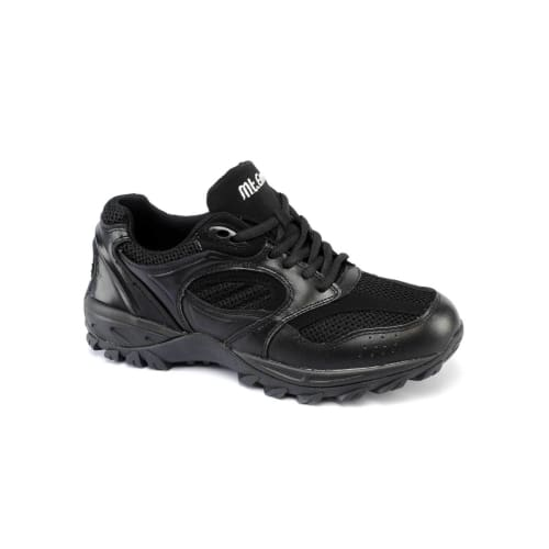 Mt. Emey 9702-1L Black - Mens Explorer I Black Athletic Shoe With Laces - Shoes