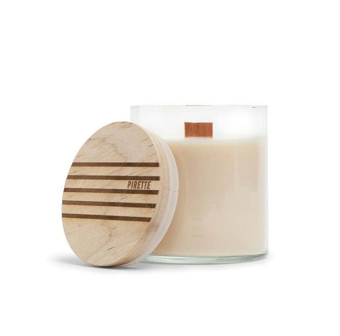 16 0z. Wood Wick Candle