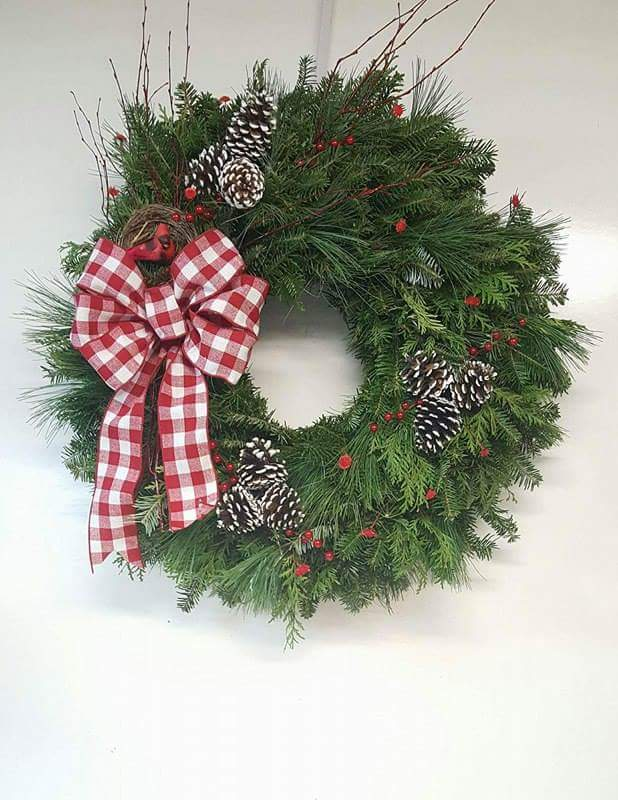 Our Fresh Handmade Wreaths