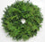 Double Face Fraser Fir & Cedar Wreath