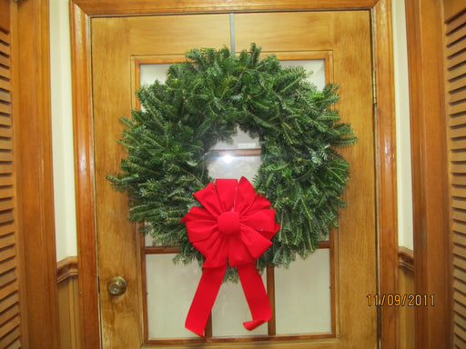 Double Face Fraser Fir Wreath