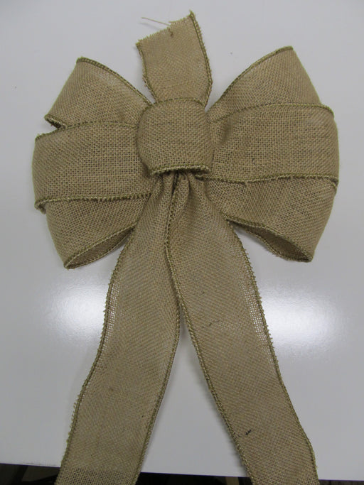 Natural Burlap Bow
