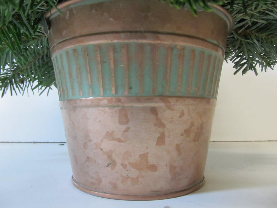 Copper Pot Arrangement