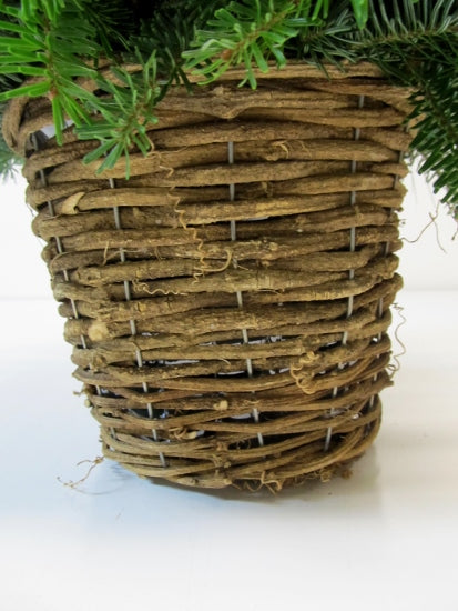 Twig Basket Arrangement