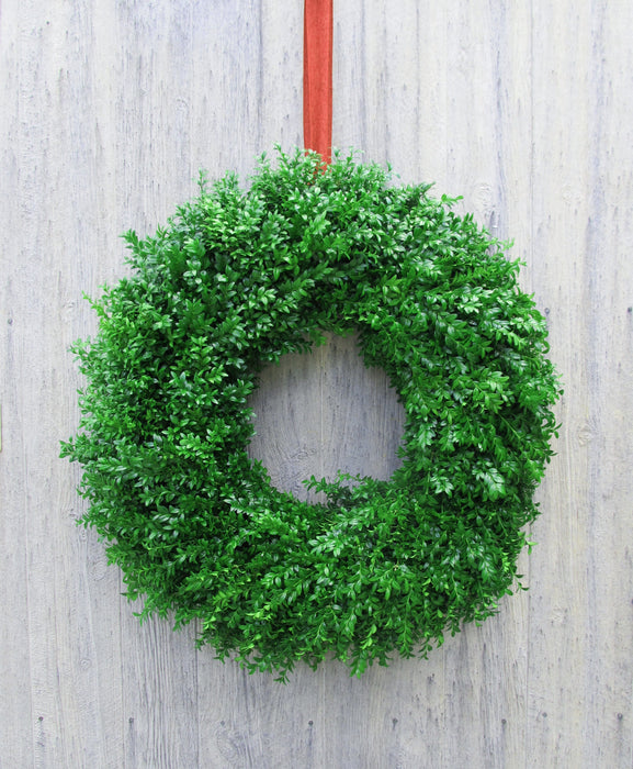 Single Face Boxwood Wreath