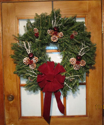 Double Face Decorated Wreath