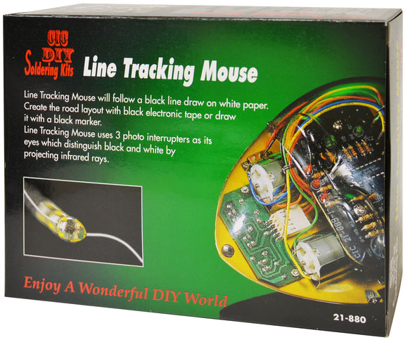 Line Tracking Robot Mouse