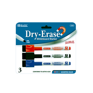 Dry Erase Markers With Erasers