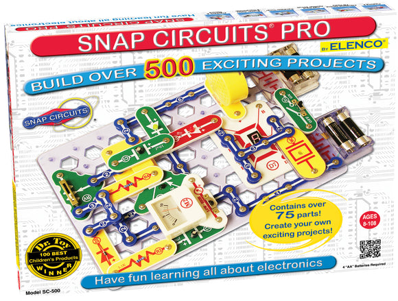 Snap Circuits Pro 500 Experiments