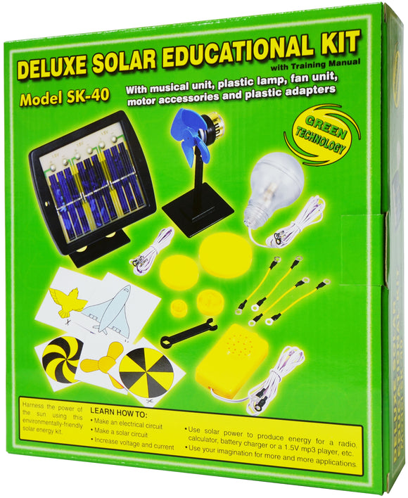 Deluxe Solar Educational Kit