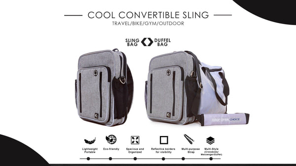 Cool Convertible Sling Bag