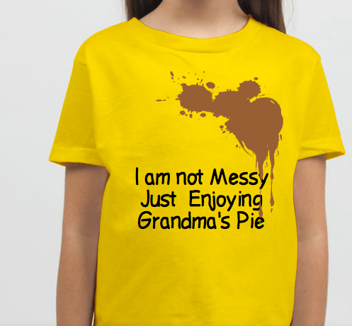 Messy Toddler Shirt(Pre-order only)