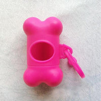 Lovely Bone Shape Case Dog Poop Bag Dispenser