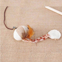 Interactive Mouse Cat Toy With Elastic Rod