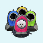 Portable Mesh Dog & Cat Travel Backpack