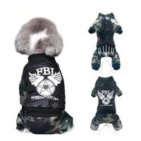 Camouflage FBI Dog Cloth