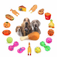 Anti-Bite Squeaker Dog Toys