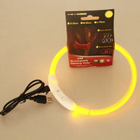 USD Rechargeable LED Dog Collar (Adjustable)