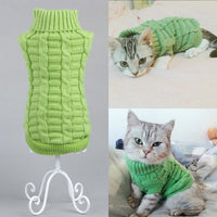 Candy Stripe Warm Cat Sweater