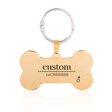 New Custom Stainless Steel Dog & Cat Personalized ID Tag