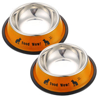 Mini Stainless Steel Dog & Cat Bowl