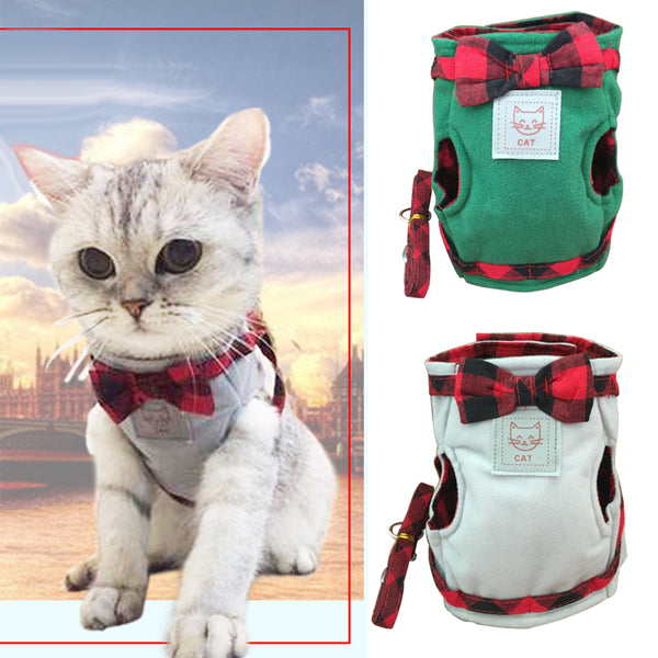 Beautiful Hand Grip Strap Cat Harness