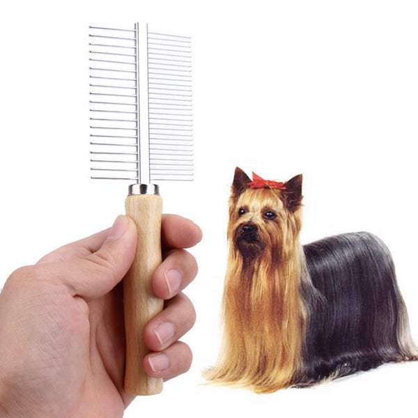 Multi-Usage Stainless Steel Dog Brush