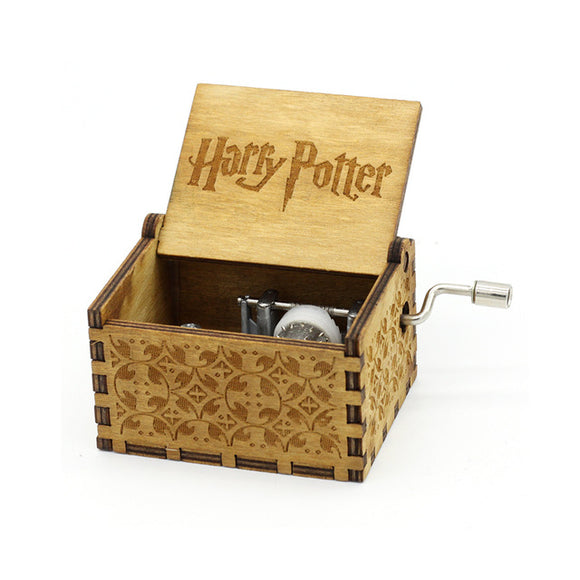 Harry Potter Wooden Music Box