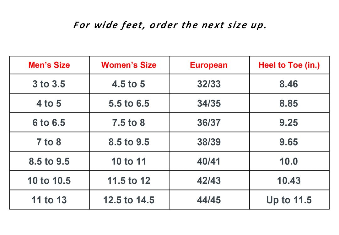 new arrival 77f6e 524da All sizes are based on Men s Size in the left column. For example women s  size 8.5 to 9.5   Men s 7 to 8.