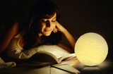 3D Moon Lamp - Rechargeable