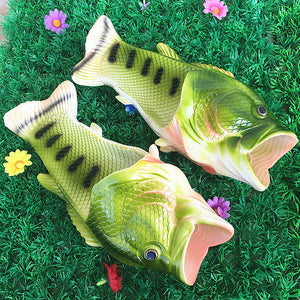 Fish Flop Sandals - Fish shaped sandals for men, women, and kids!