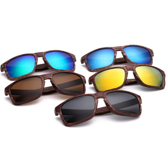 FREE - Retro Wooden Style Sunglasses - For Men & Women!