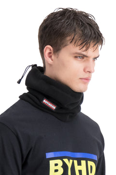 Black Logo Polar Neck Band