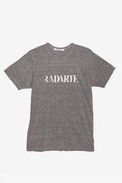 Grey/Silver Text Radarte T-Shirt