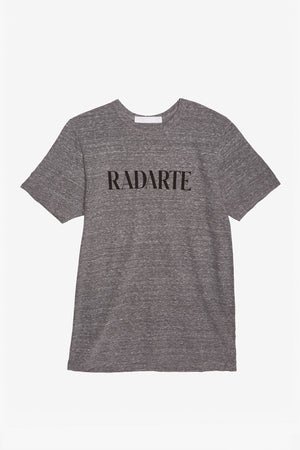 Grey/Black Text Radarte T-Shirt