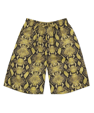 Snake Print Cody Elasticated Short