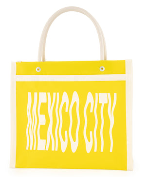 Yellow Mexico City Mini Bag