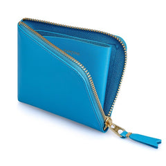 Blue Classic Leather Wallet