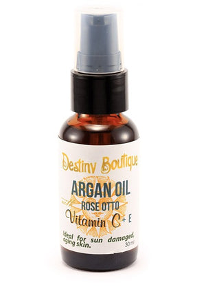 Rose Otto Argan Oil Vitamin C + E Serum