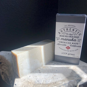 Cold Processed Manuka Dead Sea Mud Soap