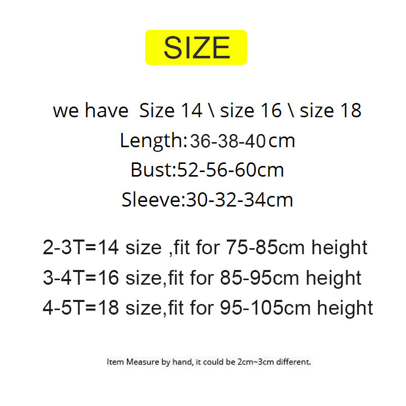 sweater sizing chart
