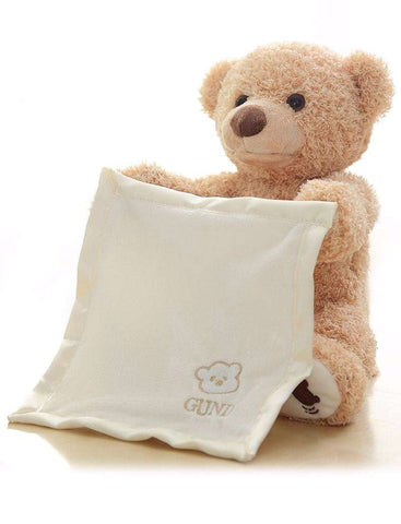 Peek a Boo Bear - LuxKick Baby Boutique